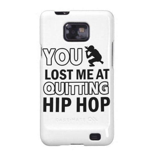 Hip Hop designs Galaxy SII Cases