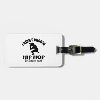 Hip Hop designs Luggage Tag