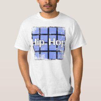 """Hip Hop"" drum pads white T-shirt"