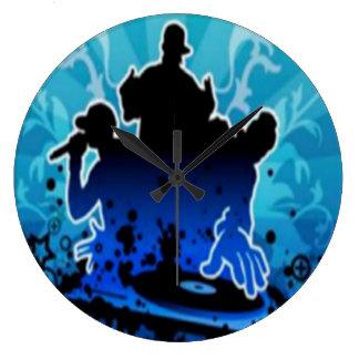 Hip Hop Encore Wall Clock