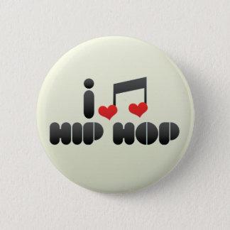 Hip Hop fan 2 Inch Round Button