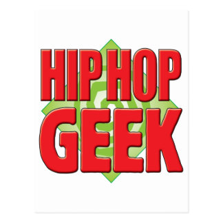 Hip Hop Geek v2 Postcard