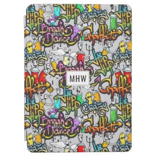 Hip Hop Graffiti custom monogram device covers iPad Air Cover