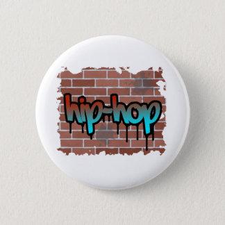 hip hop graffiti  design 2 inch round button