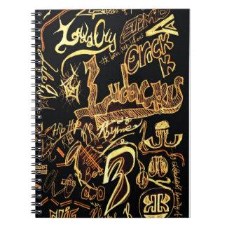 Hip Hop Graffiti Notebook