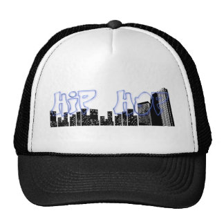 HIP HOP GRAFFITI TRUCKER HAT