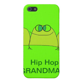 HIP HOP GRANDMA iphone phone case Covers For iPhone 5