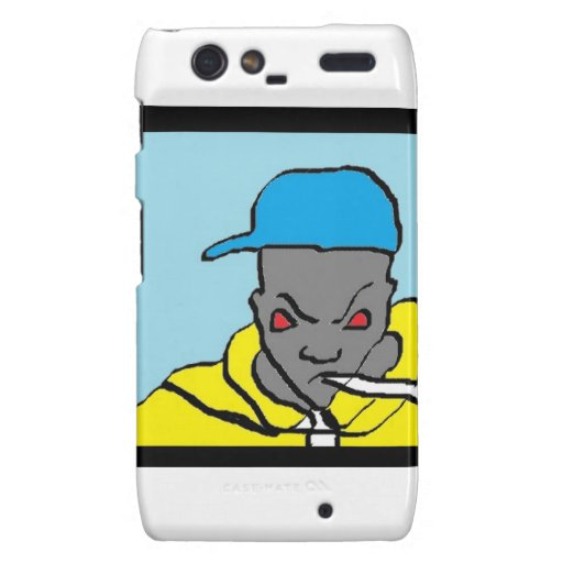 Hip hop head motorola droid RAZR case