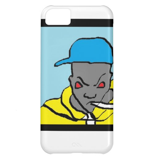 Hip hop head cover for iPhone 5C