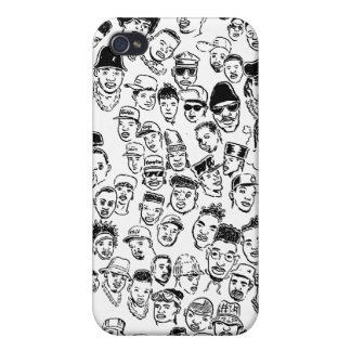 Hip Hop Headz Case For iPhone 4