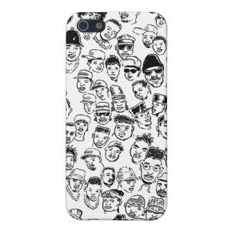 Hip Hop Headz iPhone 5/5S Cases