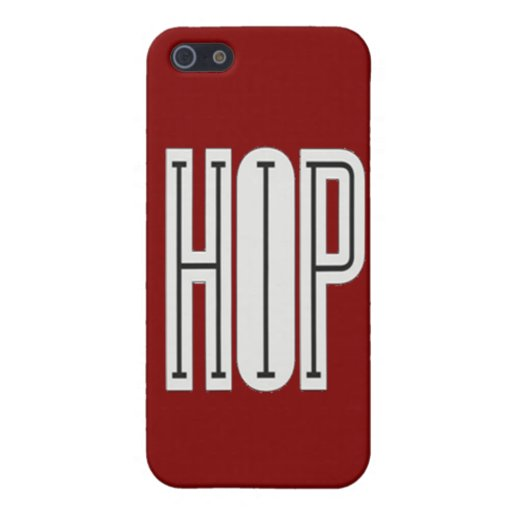 Hip Hop - iPhone 5 Case (red)