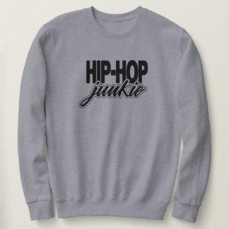 Hip Hop Junkie Golden Era Rap Music Sweatshirt