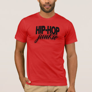 Hip Hop Junkie Golden Era Rap Music T-Shirt