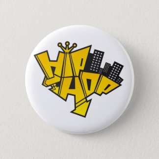 Hip-hop logo 2 inch round button