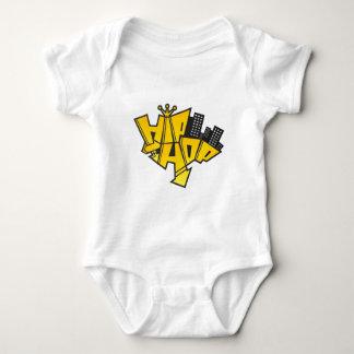 Hip-hop logo baby bodysuit