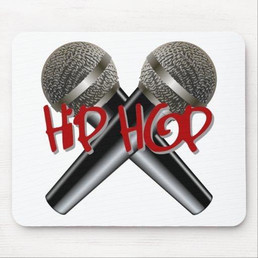 Hip Hop - mc rap dj rap turntable mic graffiti r&b Mouse Pad