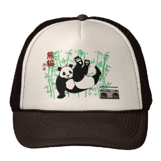 Hip Hop Panda Cap Trucker Hat