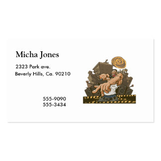 Hip Hop Party Don't Stop Pack Of Standard Business Cards