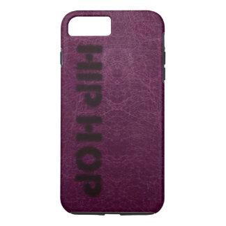 Hip Hop Purple Leather Look iPhone 7 Plus Case