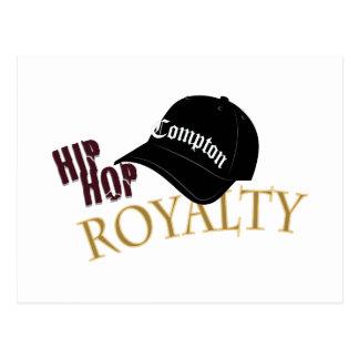 Hip Hop Royalty Postcard
