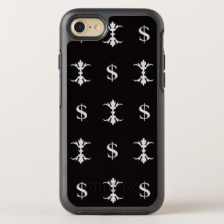 Hip Hop Silver Dollar Bling Royal OtterBox Symmetry iPhone 8/7 Case