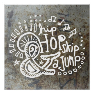 Hip Hop Skip Jump 2B Poster