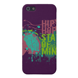 Hip Hop State of Mind iPhone 5 Covers