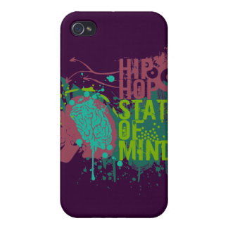 Hip Hop State of Mind Cases For iPhone 4