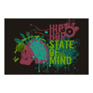 Hip Hop State of Mind Poster