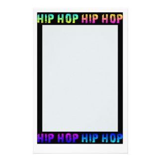 Hip Hop stationary, customize Stationery