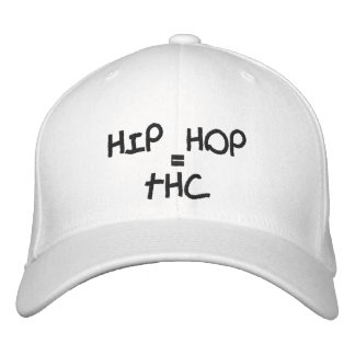HIP HOP, =, THC EMBROIDERED BASEBALL CAP