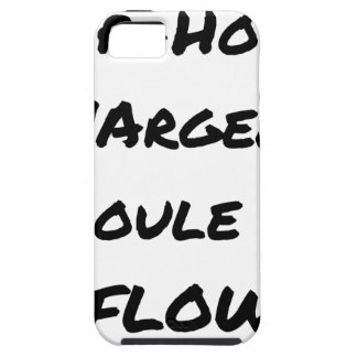 HIP-HOP: The MONEY RUNS With FLOW - Word games iPhone 5 Cover