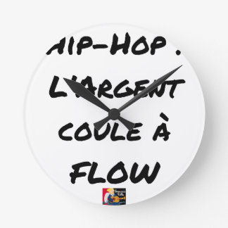 HIP-HOP: The MONEY RUNS With FLOW - Word games Round Clock