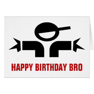 Hip Hop theme Birthday Card