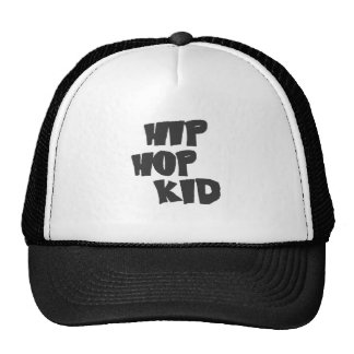 Hip hop trucker hat