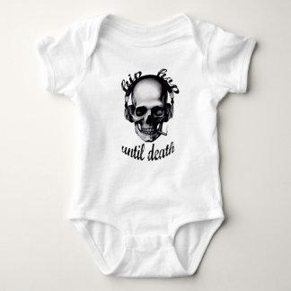 Hip Hop Until Death Baby Bodysuit