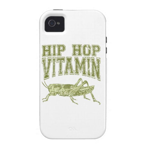 Hip Hop Vitamin iPhone 4 Covers
