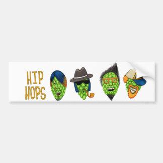 Hip Hops bumper sticker