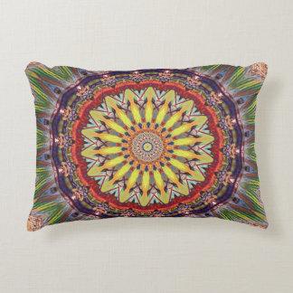 Hip Masculine Mandala Pattern Accent Pillow