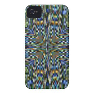 Hip modern Artistic Feathery Pattern Case-Mate iPhone 4 Case