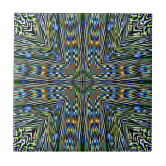 Hip modern Artistic Feathery Pattern Tile