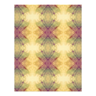 Hip modern Neutral Pastel Abstract Pattern Letterhead Template
