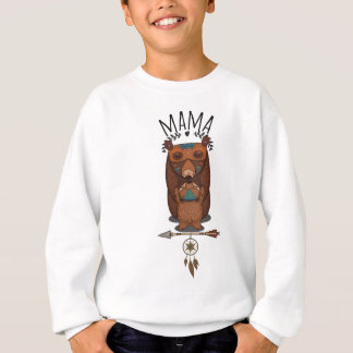 Hip Mother's Mama Bear and Bear Cub Vintage Shirt