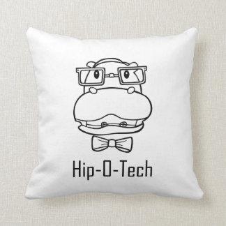 Hip-O-Tech Throw Pillow