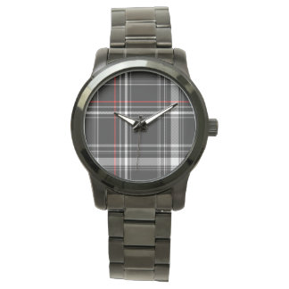 hip plaid street wristwatches