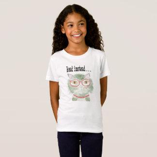 Hip reading kitty T-Shirt