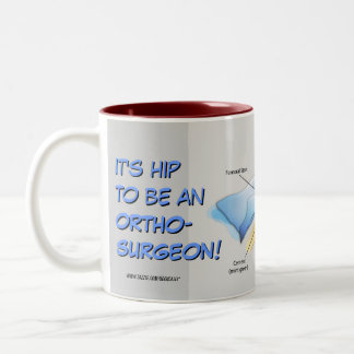 Hip Replacement Infographic Mug (version 2)