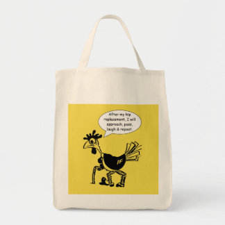 Hip Replacement Surgery - Fun Quote Tote Bag