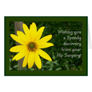Hip Surgery Speedy Recovery Card